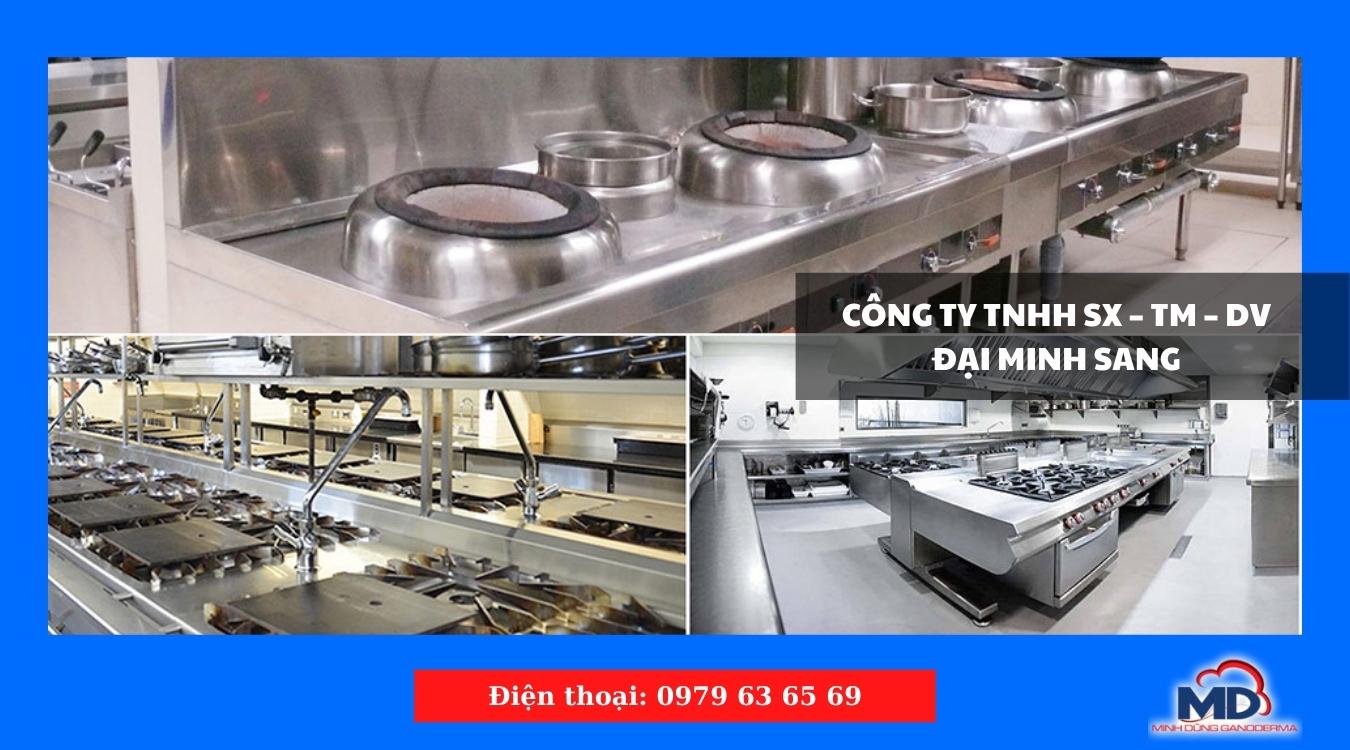 Lắp đặt hệ thống bếp công nghiệp