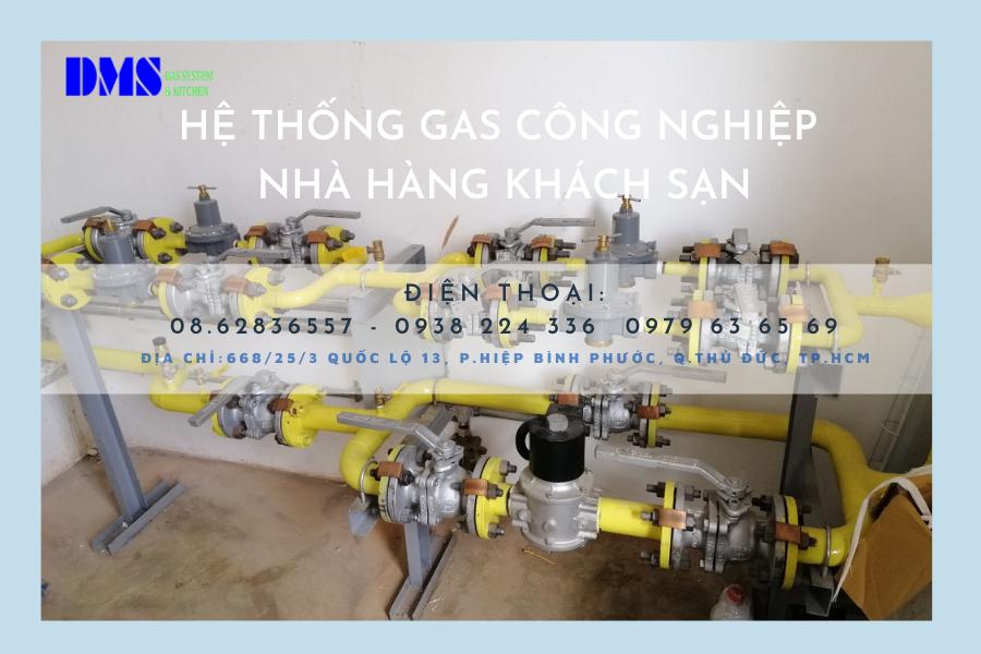 hệ thống bếp gas công nghiệp